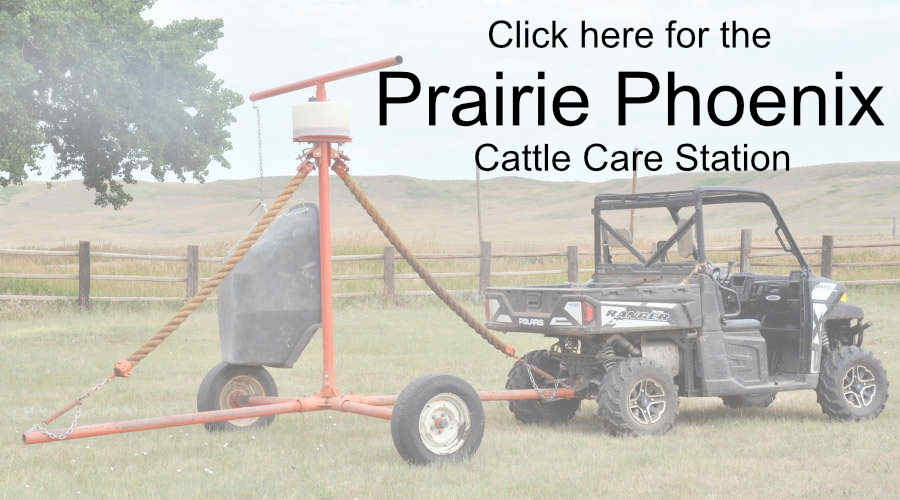 Click here for the Prairie Phoenix Cattle Care Station